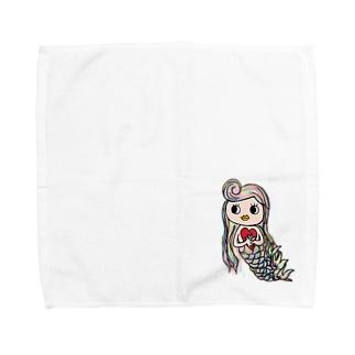 海姫ちゃん Towel handkerchiefs