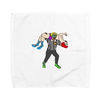 反則は許しまへんで! Towel handkerchiefs