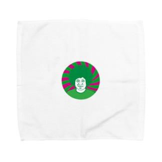 ボマちゃんの顔タオル Towel handkerchiefs