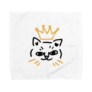 君はおうさま Towel handkerchiefs
