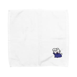 おばけうさロマン Towel handkerchiefs