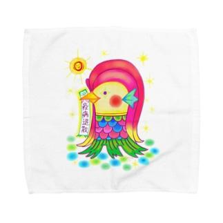 アマビエサマ Towel handkerchiefs