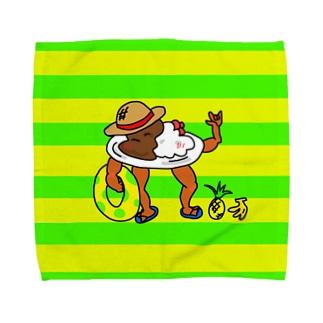 コクオーチャンはんかち Towel handkerchiefs