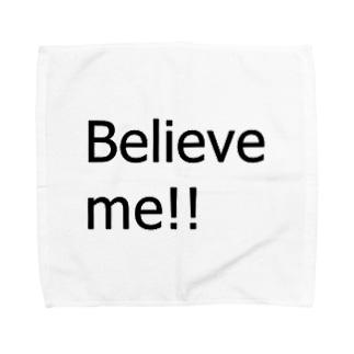 Believe me!! Towel handkerchiefs