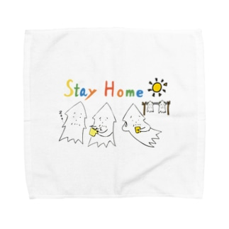 モンゴイカンパニー 販売部のSTAY HOME モンゴイカ Towel handkerchiefs