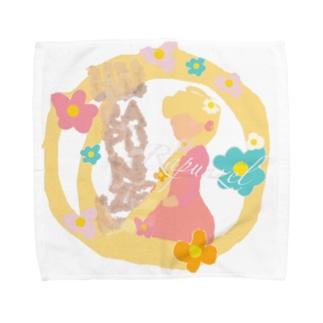 ラプンツェル👸🏼 Towel handkerchiefs