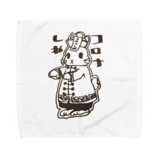 コロナ撲滅のお札 Towel handkerchiefs