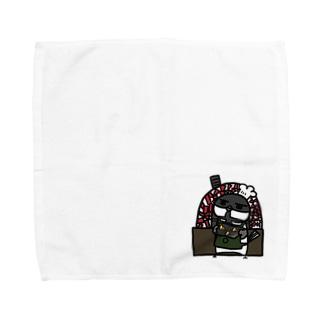 ことり喫茶珈琲牛乳 ベーカリー Towel handkerchiefs