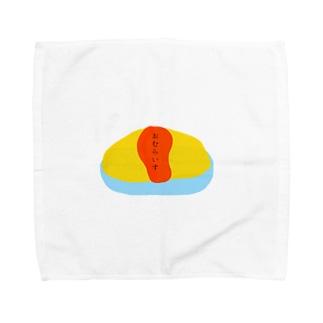 青 海 フィルム 日常のおむらいす Towel handkerchiefs