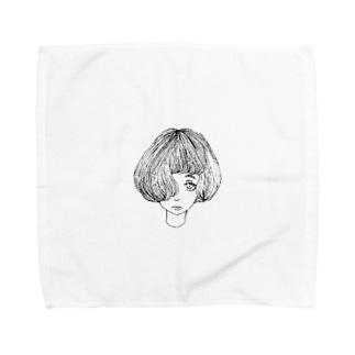 doll Towel handkerchiefs