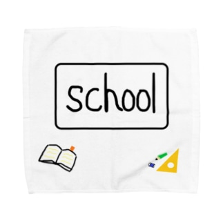 学校用 Towel handkerchiefs
