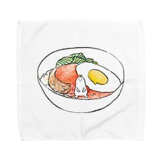 ろこもこ Towel handkerchiefs