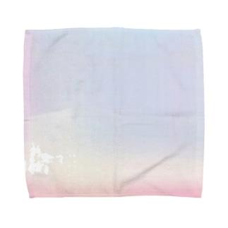 一目惚れ 半分 Towel handkerchiefs