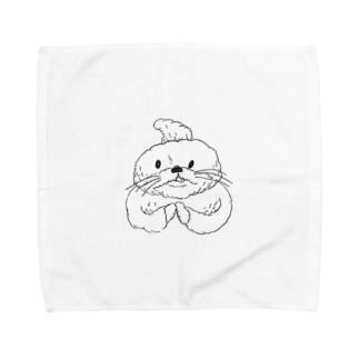 もこ太郎 Towel handkerchiefs