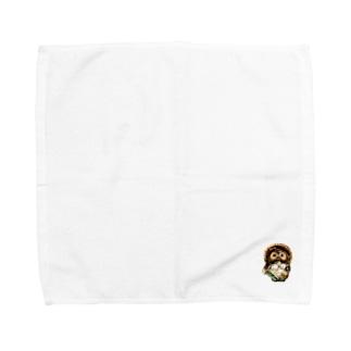 雌狸(1匹) Towel handkerchiefs