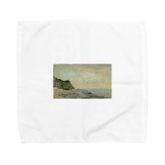 teki shopの日の出(モネ) Towel handkerchiefs