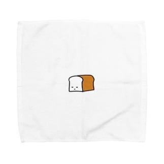 ねむる しょくぱん Towel handkerchiefs