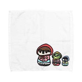 ことリョーシカ Towel handkerchiefs