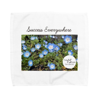 Only 15 minutes オリジナルグッズ ーSuccess Everywhereー Towel handkerchiefs