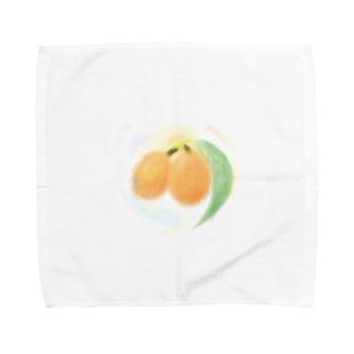 癒しの枇杷 Towel handkerchiefs