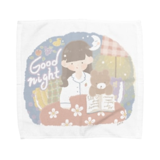 おやすみ Towel handkerchiefs