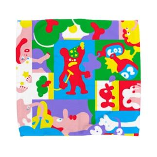バカンス Towel handkerchiefs