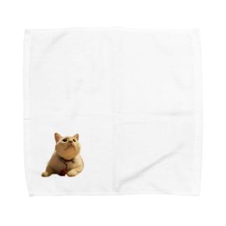 上向いてる改 Towel handkerchiefs