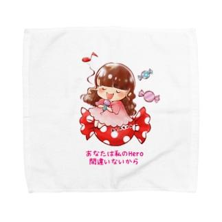 キャンディーおしのちゃん Towel handkerchiefs