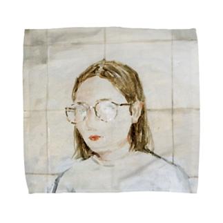 She is Towel handkerchiefs