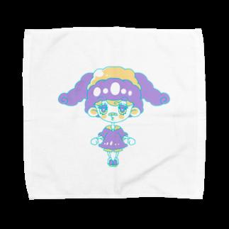 かじきのusagi Towel handkerchiefs