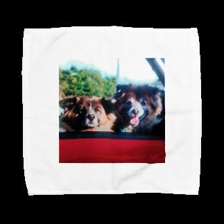 aozora0817のいぬっこ Towel handkerchiefs