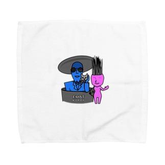 岩男と抱子 Towel handkerchiefs