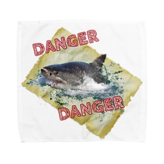DANGER Towel handkerchiefs