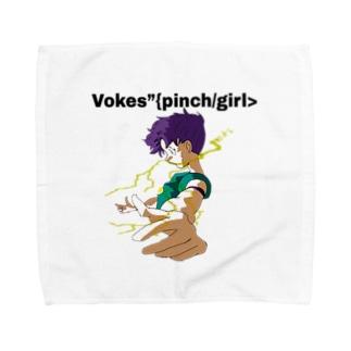 【Vokes】{pinch/girl> Towel handkerchiefs