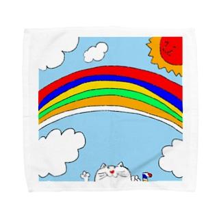 レインボーデイ Towel handkerchiefs