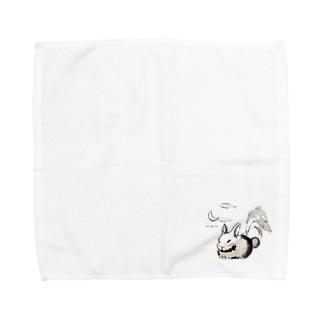 月見 Towel handkerchiefs