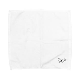 ただの犬 Towel handkerchiefs
