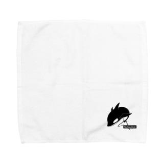 NUNAQUA(シャチ) Towel handkerchiefs
