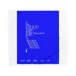 挨拶の連呼 Towel handkerchiefs