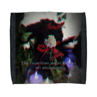 ブラック・ミンミン Towel handkerchiefs