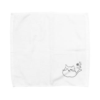 ゆるどろ猫 Towel handkerchiefs