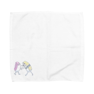 仲良し〜!!!☆+゜ Towel handkerchiefs