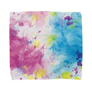 運命の出逢い Towel handkerchiefs