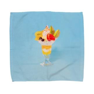 フルーツパフェなアイテム Towel handkerchiefs