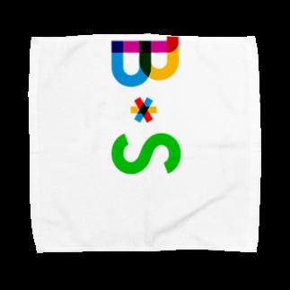 marikiroのBS initial Towel handkerchiefs