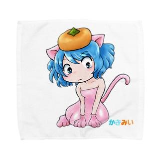 かきみい Towel handkerchiefs