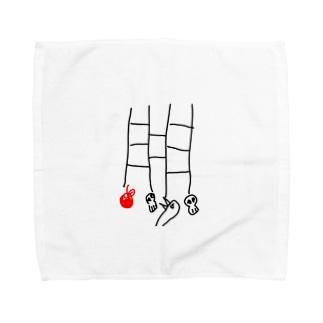 あみだとり Towel handkerchiefs