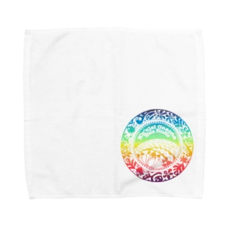 クウレイオナオナフラスタジオ ロゴ 2020summer ver. Towel handkerchiefs