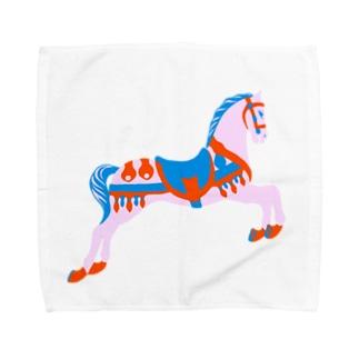 回転木馬 Towel handkerchiefs
