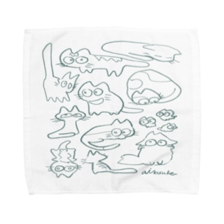 愛之助の絵 Towel handkerchiefs